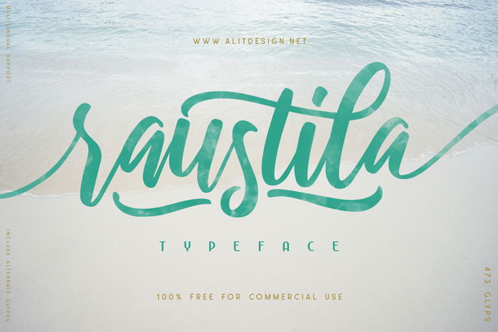 raustila Font poster