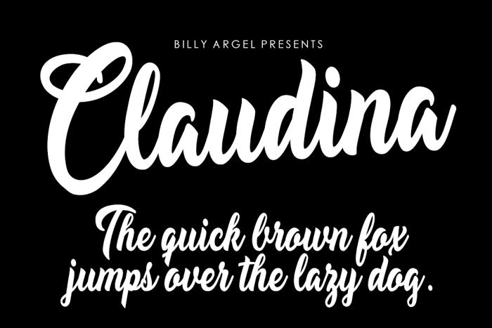 Claudina Font poster