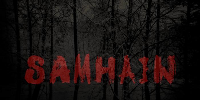 DK Samhain Font poster