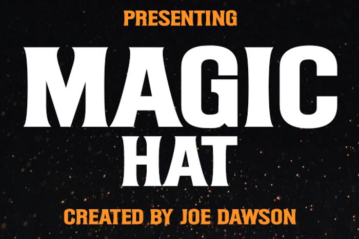 Magic Hat Font poster