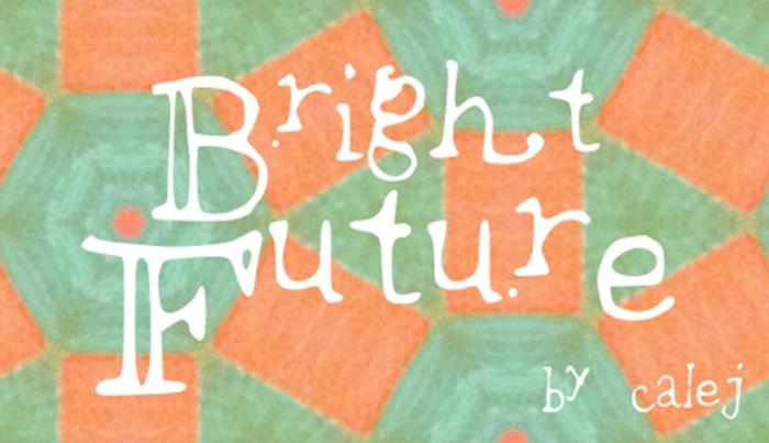 brightfuture Font poster