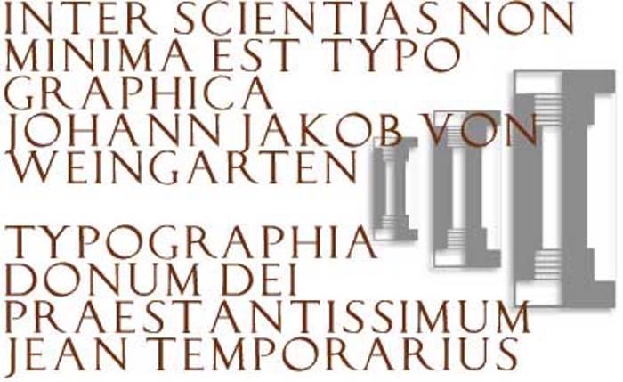 LucaPacioliRough Font poster