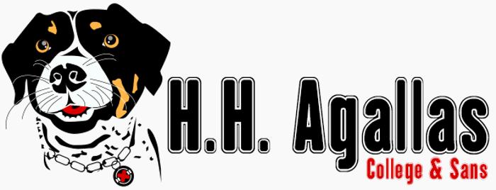 H.H. Agallas Font poster