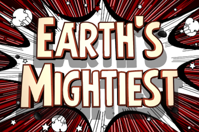 Earth's Mightiest Font poster