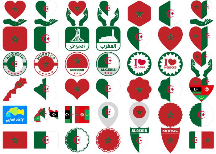 color Morocco Algeria Font