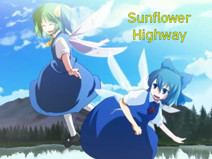 Sunflower Highway Font poster