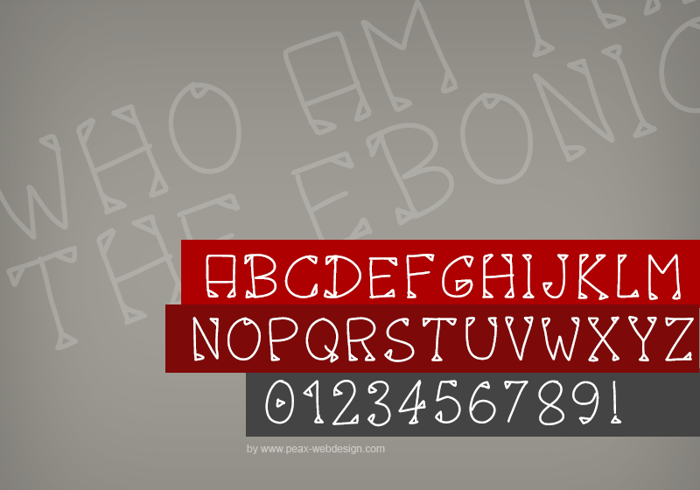 PWOctober Font poster
