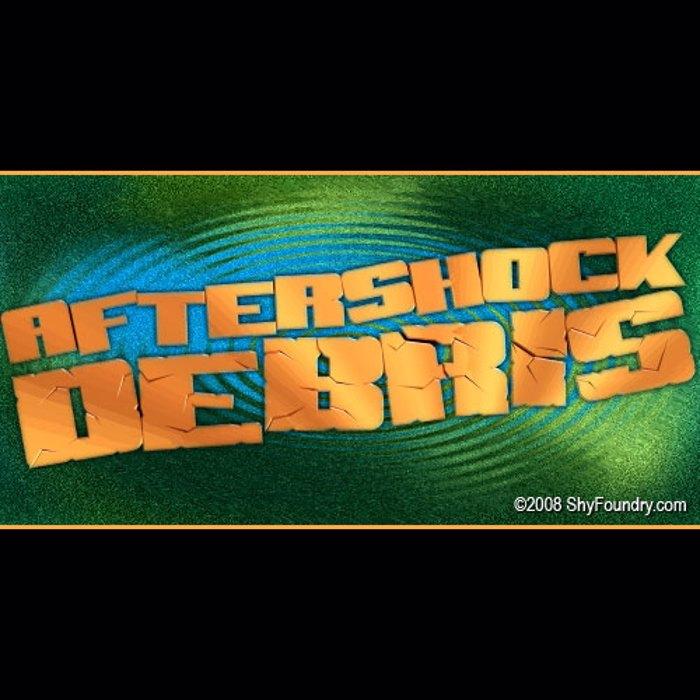 SF Aftershock Debris Font poster