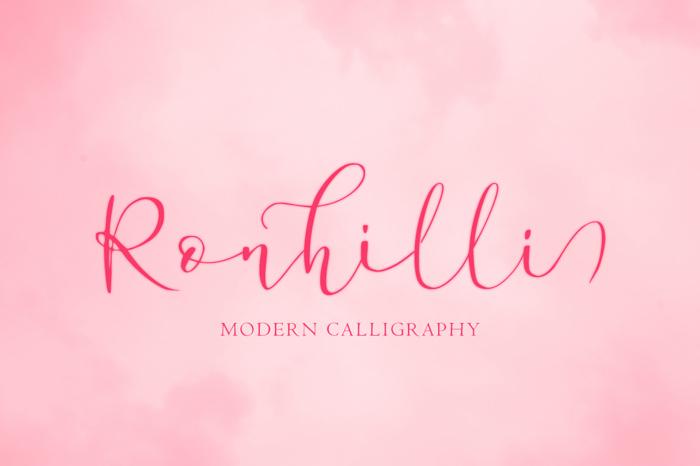 Ronhilli poster