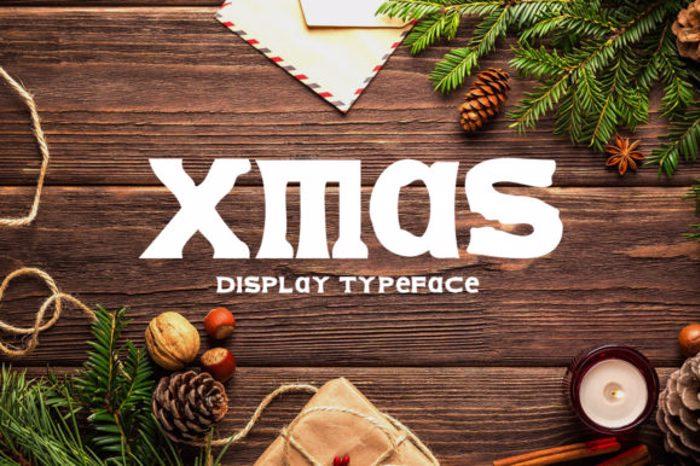 Xmas Font poster