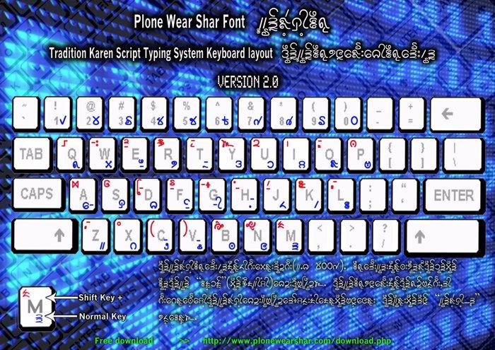 Plone Ware Shar Mla Font