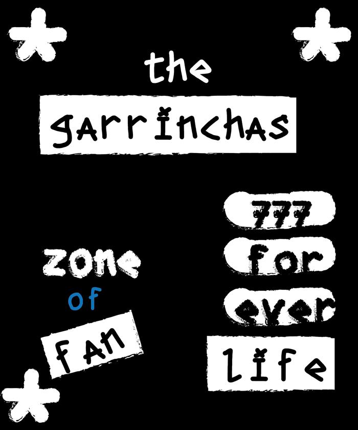 the garrinchas Font poster