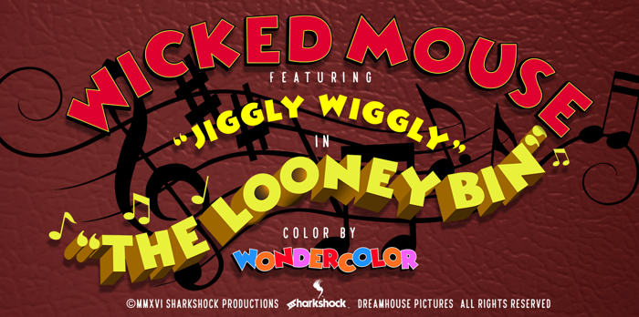 Wicked Mouse Font poster