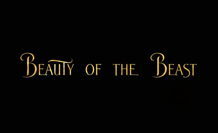 BeautyoftheBeast Font poster