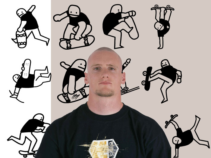 Mike vallely Font poster