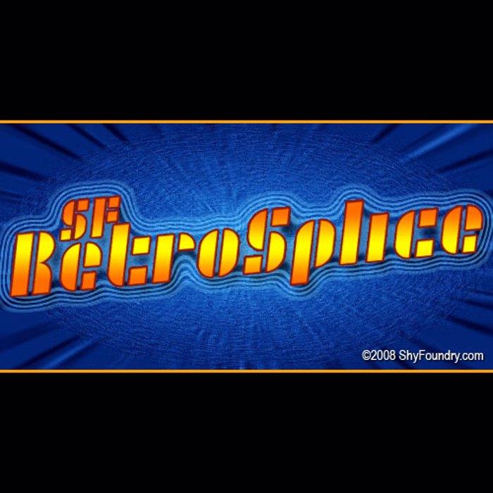SF RetroSplice Font poster