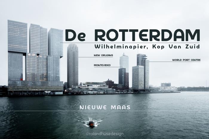 De Rotterdam Demo Font poster