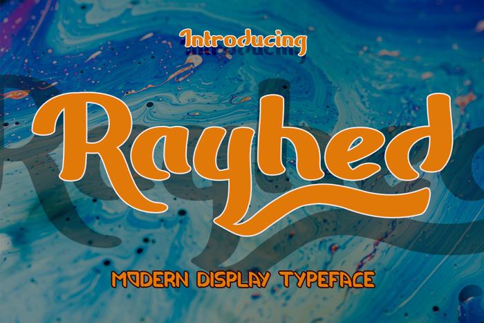 Raemond Font poster