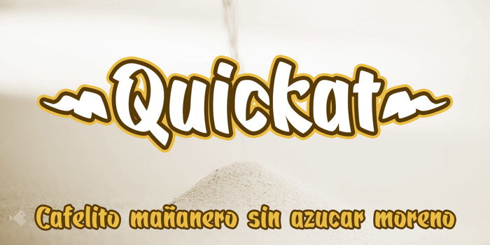 Quickat Font