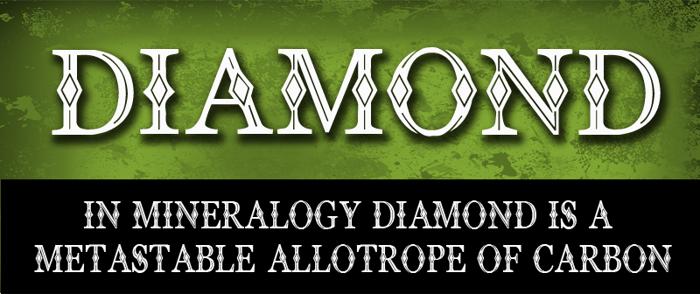 CF Diamond Font poster