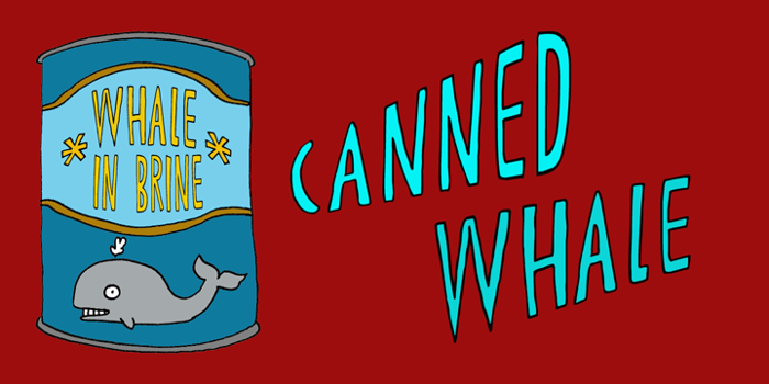 DK Canned Whale Font poster
