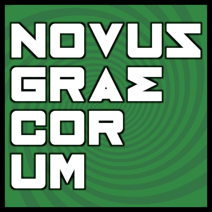 Novus Graecorum Font poster