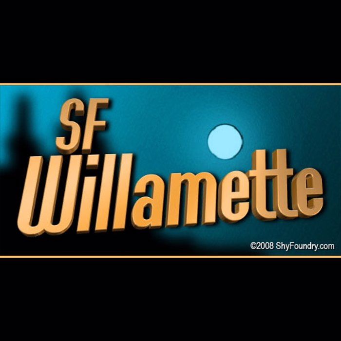 SF Willamette Font poster