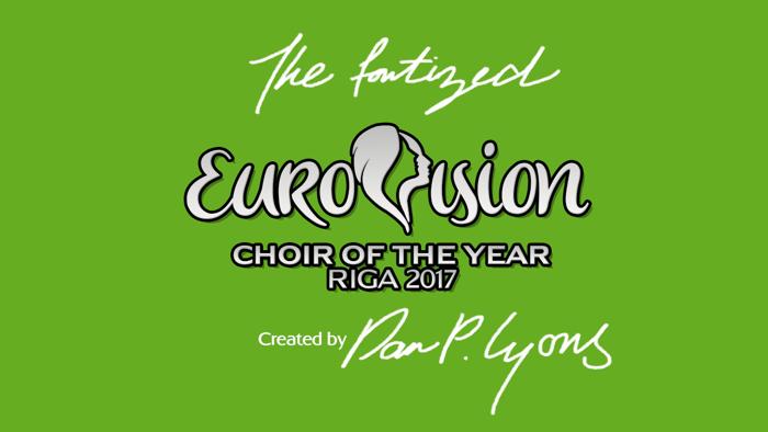 Eurovision Choir 2017 Font poster