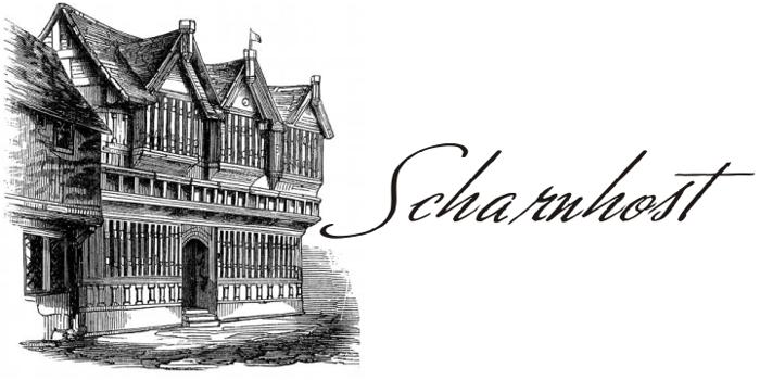 Scharnhorst Font