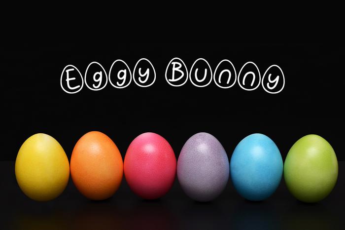 Eggy Bunny Font
