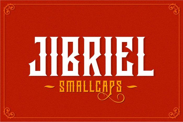 Jibriel Small Caps Font poster