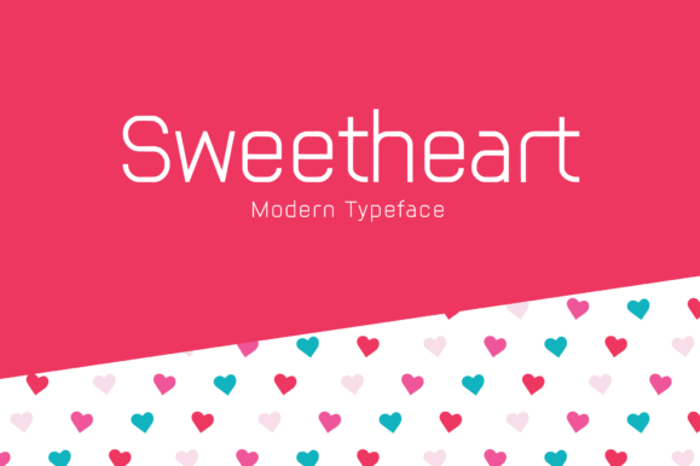 Sweetheart Font poster