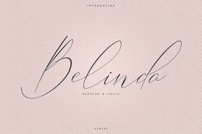 Belinda Font poster