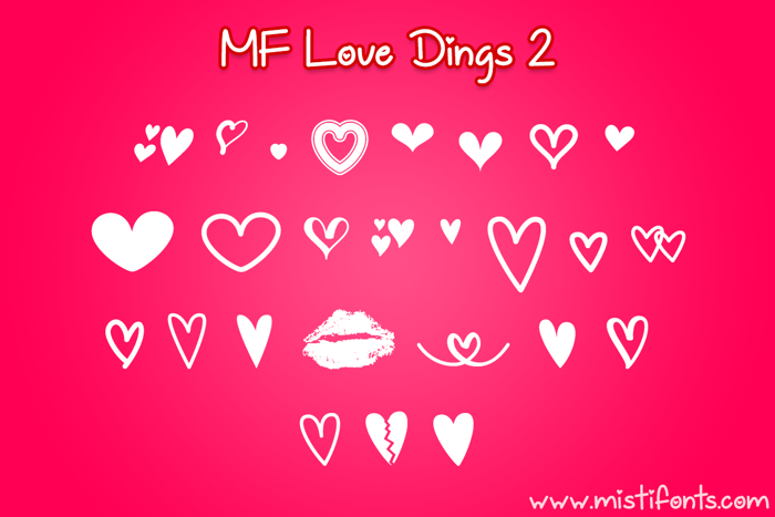MF Love Dings 2 Font