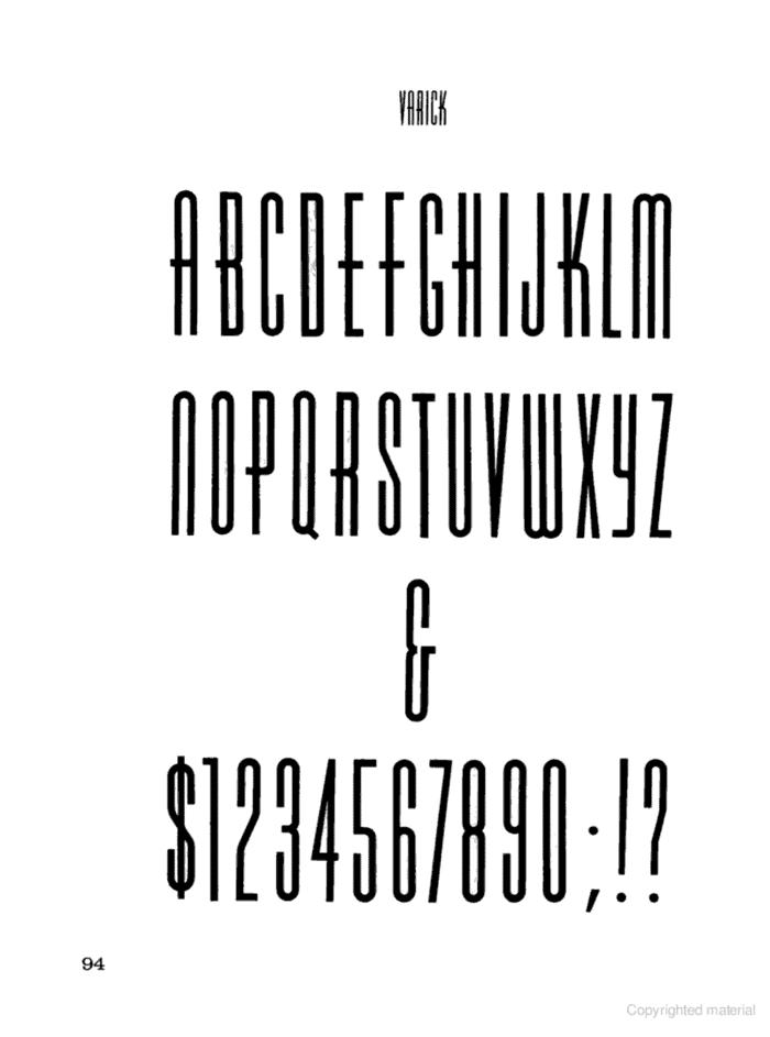 Varicka Font poster
