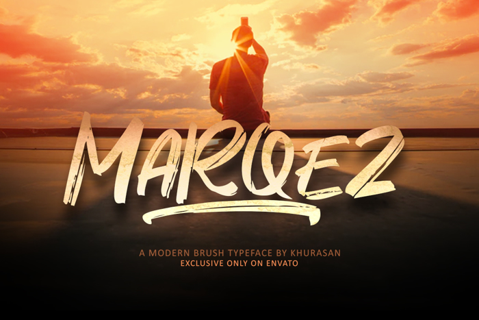 Marqez Font poster