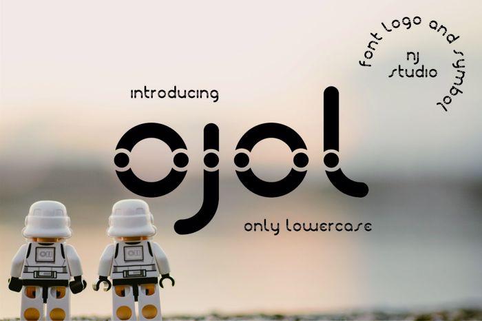 ojol Font poster