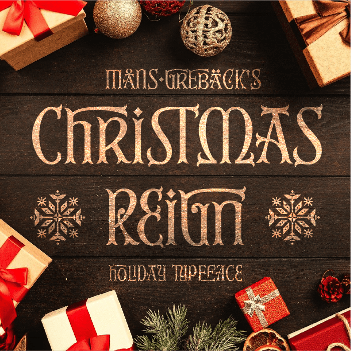Christmas Reign Font