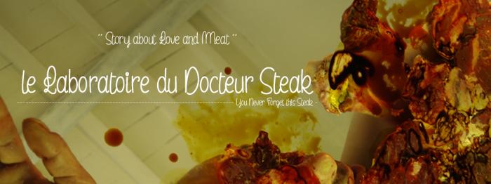 le Laboratoire du Docteur Steak Font poster