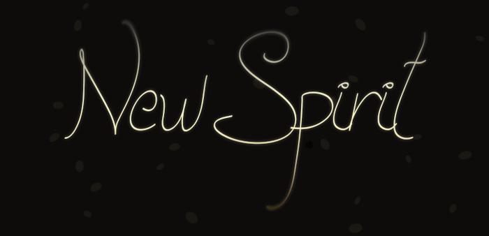 New Spirit Font poster