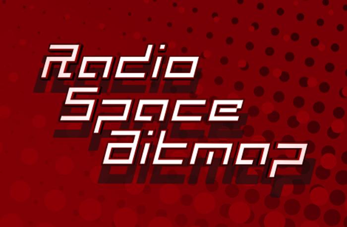 Radio Space Bitmap poster
