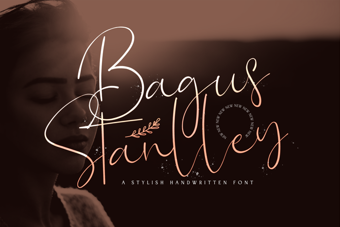 Bagus Stanlley Font poster