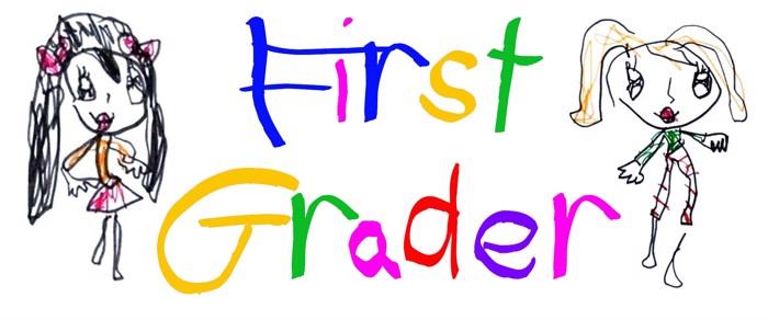 First Grader Font poster