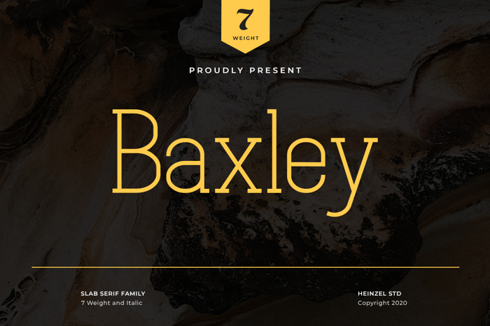 Baxley Font