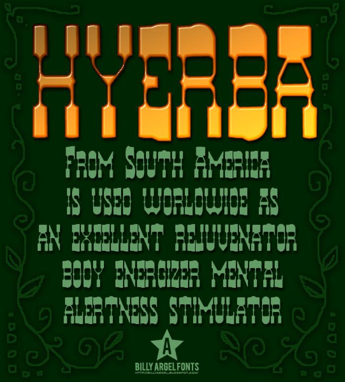 HYERBA poster