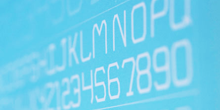 Cisco Font poster