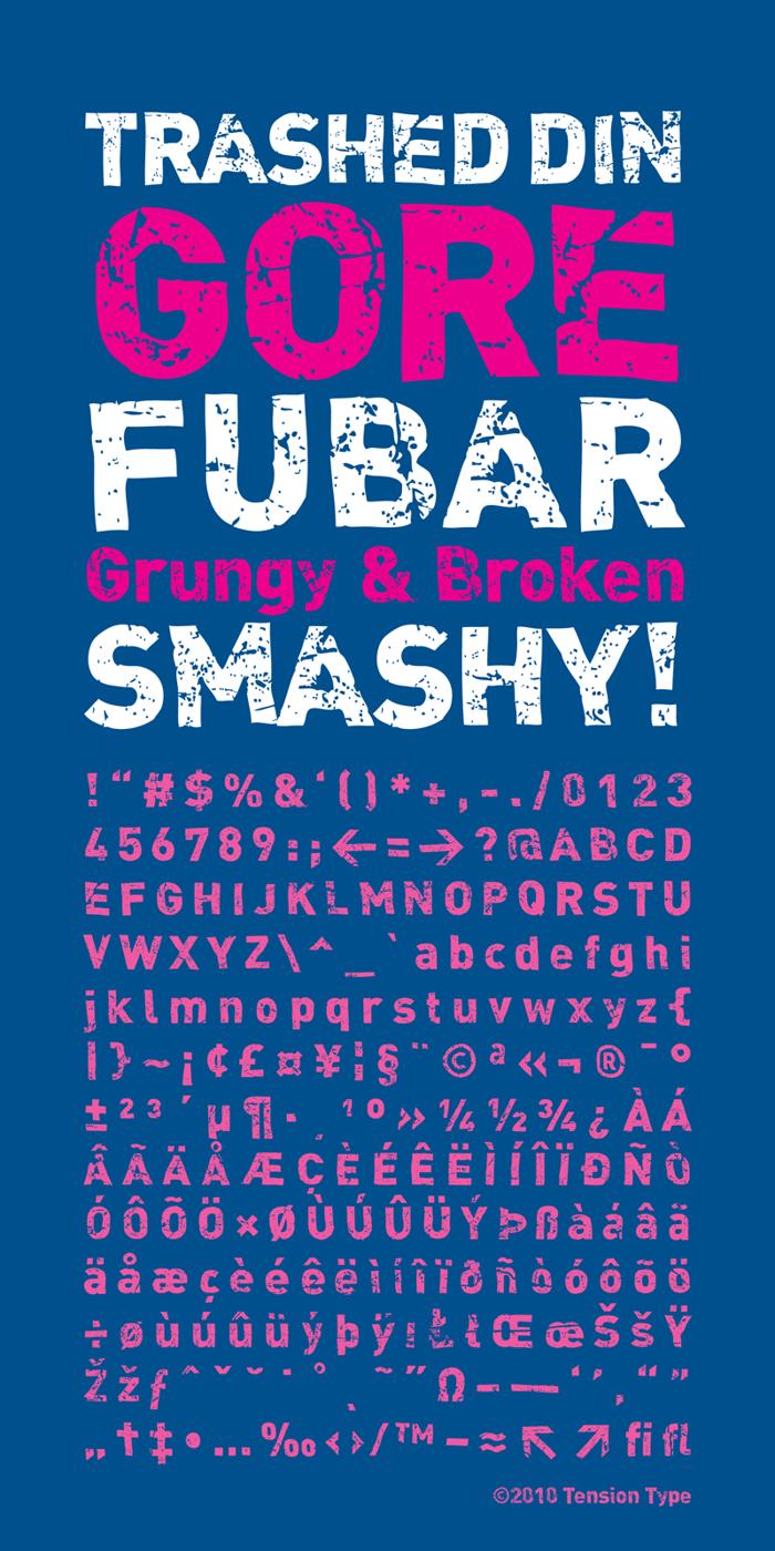 DINk Font poster