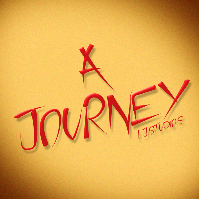A Journey Font poster