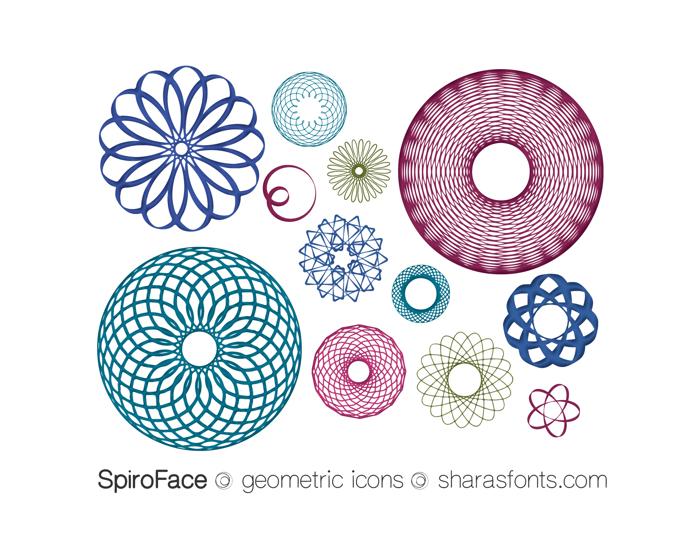 SpiroFace Font poster