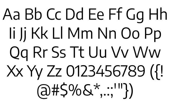 Encode Sans Font poster